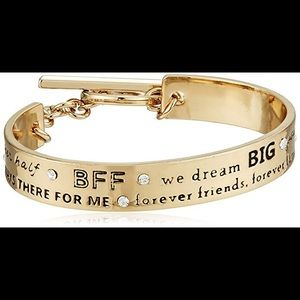 BCBGeneration Sister Phrase Cuff Bracelet